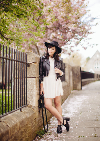wish wish wish jacket dress shoes hat bag