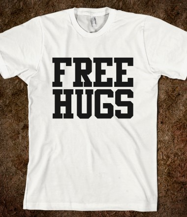 Free Hugs - xpress - Skreened T-shirts, Organic Shirts, Hoodies, Kids Tees, Baby One-Pieces and Tote Bags Custom T-Shirts, Organic Shirts, Hoodies, Novelty Gifts, Kids Apparel, Baby One-Pieces | Skreened - Ethical Custom Apparel