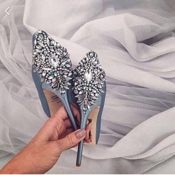 1c342d93bf54 shoes heels high heels grey grey silver sparkle girly prom prom shoes prom  dress diamonds blue