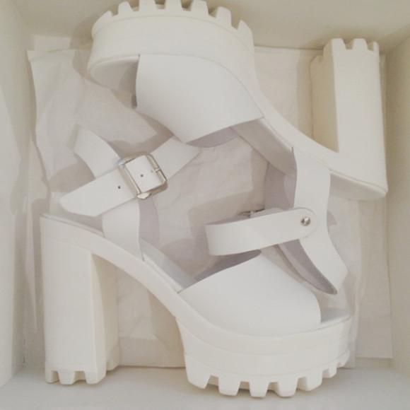 shoes high heels grunge