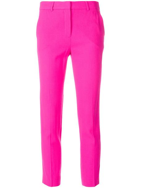 Filles à papa cropped women wool purple pink pants