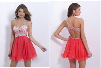 homecoming dress christmas vestidos de fiesta oneshoulder dress beading prom dress