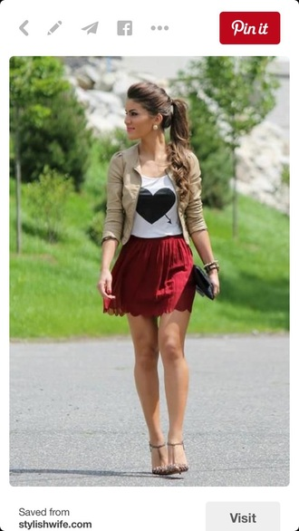 jacket cut teenagers summer summer outfits fashion celebrity style love cute party new beige red pinterest favorite trendy