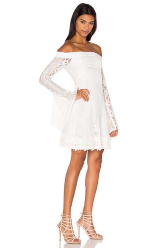 dress flare dress flare fit lace white