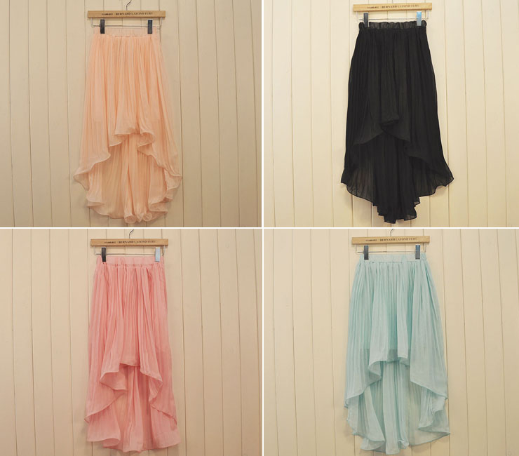 SALE-Ruffle Tail Skirt