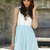 SABO SKIRT  Sapphire Strap Dress - $52.00