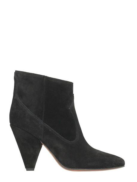 Buttero suede boots suede black shoes