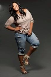 shoes,plus size,jeans,blouse,plus size jeans