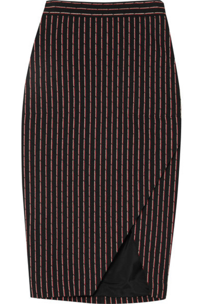 Altuzarra skirt midi skirt midi cotton black