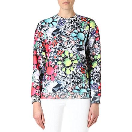 JADED LONDON - Neon Jewel sweatshirt | Selfridges.com