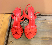 sandals,orange shoes,red shoes,blue shoes,shoes