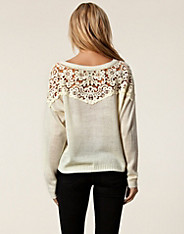 Fabia Sweater - Jeane Blush - Offwhite - Jumpers & Cardigans - Clothing - Women - Nelly.com Uk