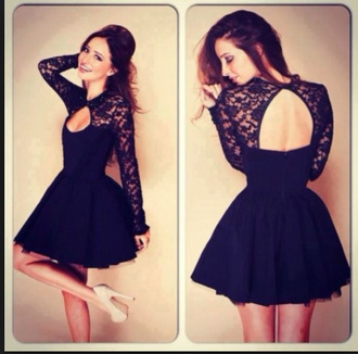 dress black dress lace dress backless dress lace sleeves lace sleeves short dress short black dress short black lace dress flowy dress loose dress princess dress zip up skirt