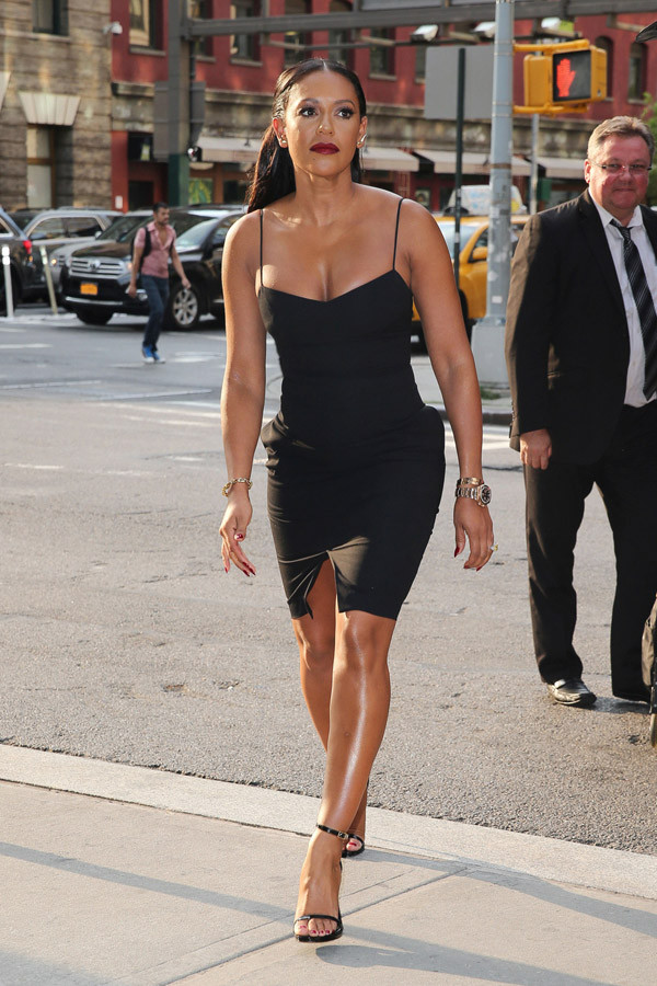 dress little black dress mel b