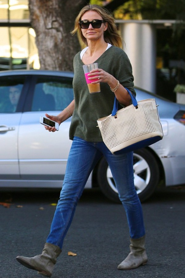 sunglasses bag cameron diaz celebrity