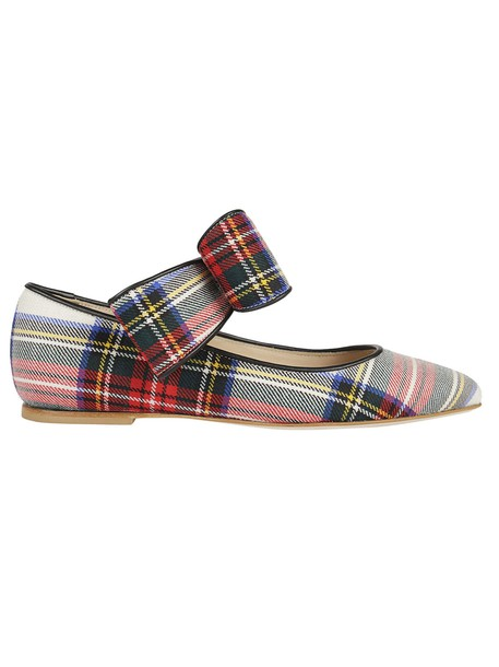 Polly Plume bow multicolor shoes