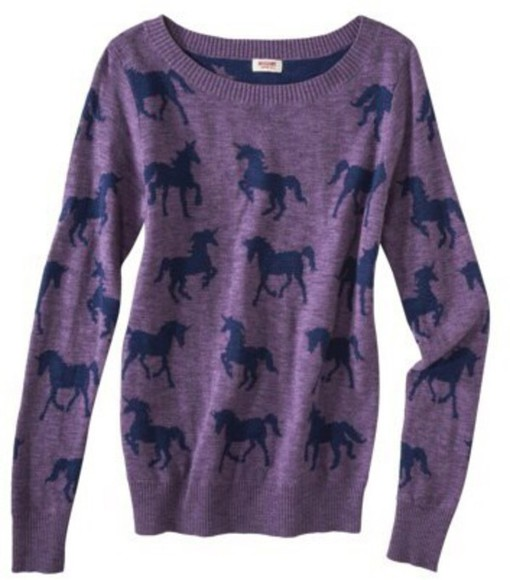 purple unicorn knitted sweater mossimo teen wolf holland roden lydia martin