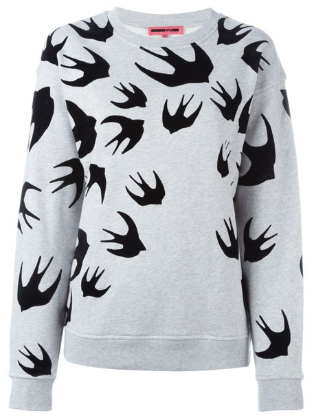 McQ Alexander McQueen sweatshirt grey sweater