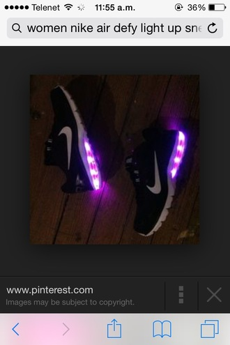 women girl girls sneakers sneakers light up air max defy light up shoes