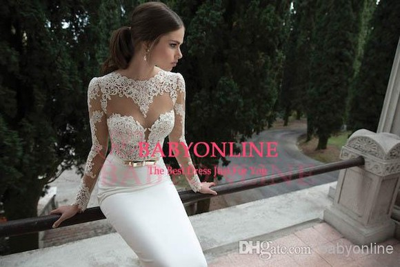 dress long sleeve wedding dresses bo3910