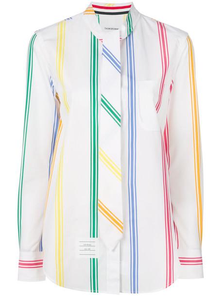 Thom Browne shirt women white cotton top