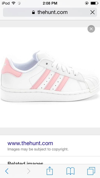 shoes pink adidas shoes adidas superstars adidas originals sneakers
