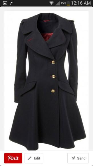 black coat coat