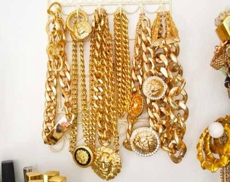 jewels gold chains