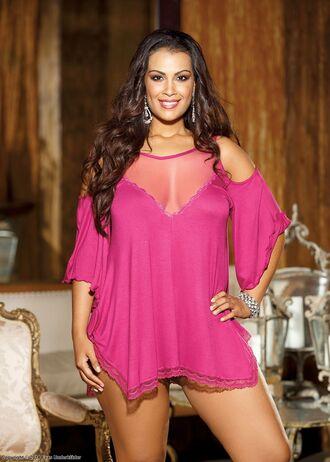 top evasunderklader evasintimates tunika chemise underwear lingerie top lingerie sexy dress