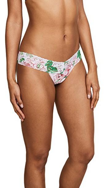 Hanky Panky thong rose underwear