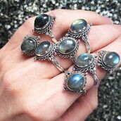 jewels,shop dixi,gypsy,boho,bohemian,hippie,grunge,jewelry,sterling silver,jewelery,ring,labradorite