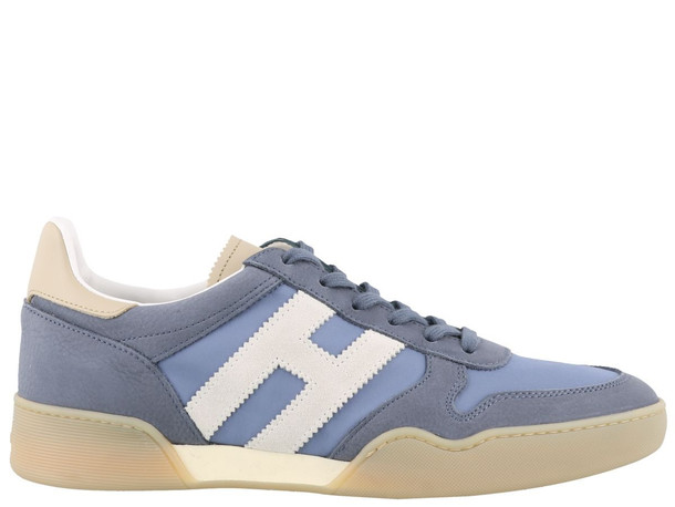 Hogan New Interactive Sneakers in denim