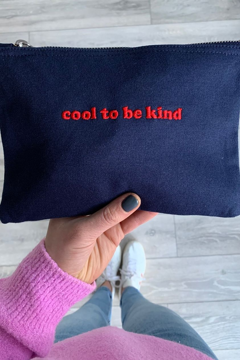 Cool to be Kind Zip Pouch