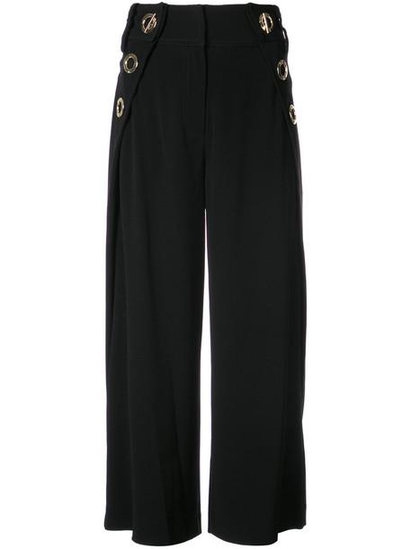 DEREK LAM 10 CROSBY women black pants