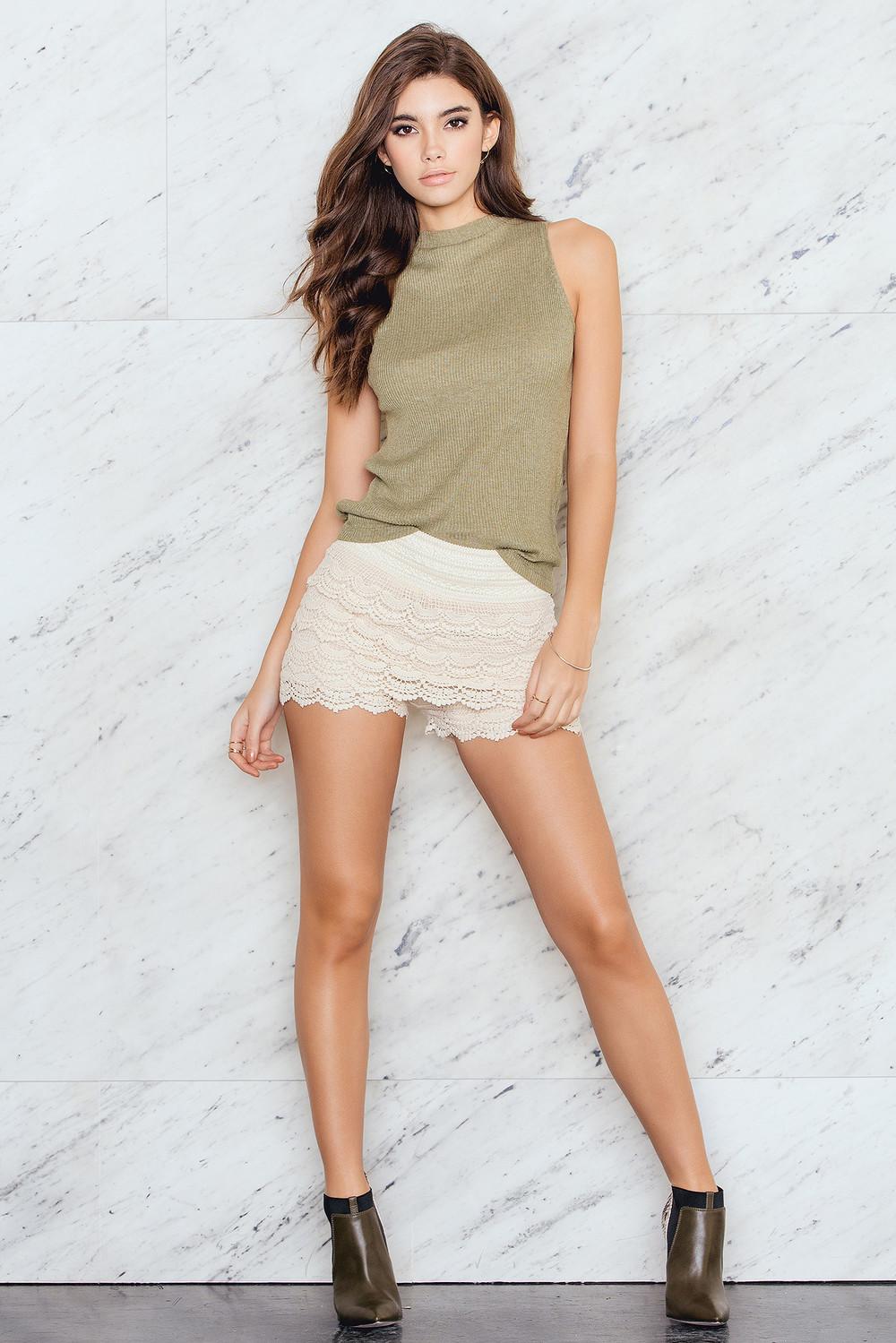 Hot Anatomy Shorts Lace