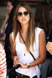 sunglasses,black,jessica alba,hair,Accessory,summer,help me fashion shoes boots gold