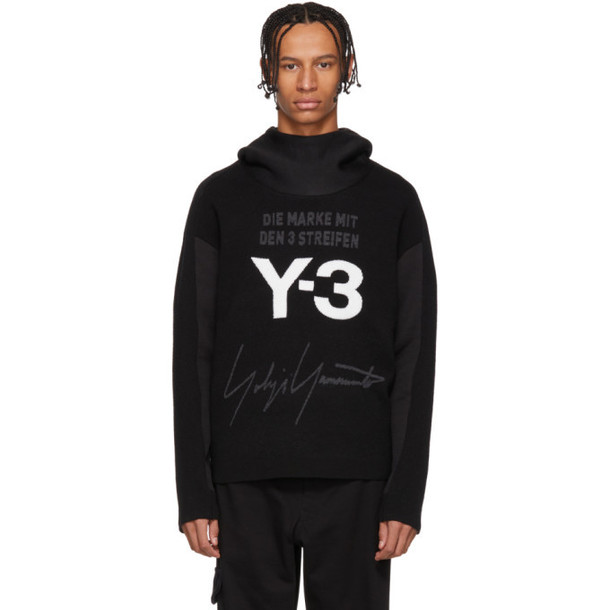 hoodie white black sweater