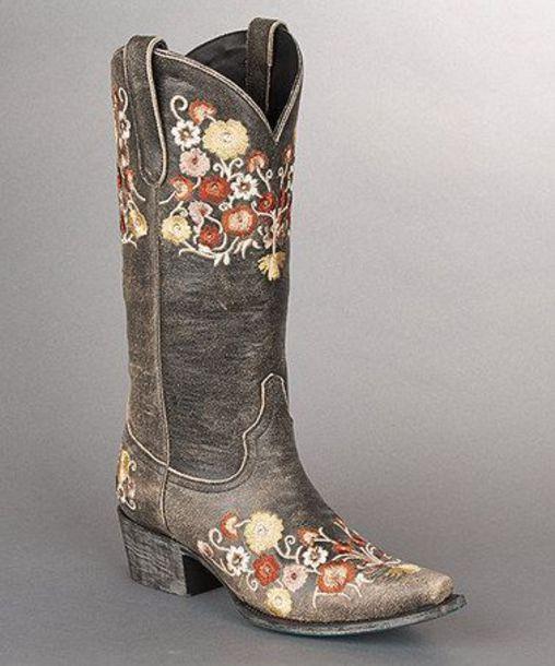 shoes cowboy boots