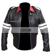 coat,celebrity,fashion,clothes,men's clothing,leather jacket