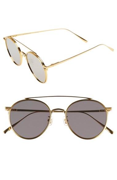 4447232f8676 Gentle Monster  If On  52mm Metal Aviator Sunglasses