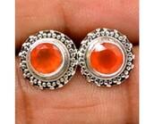 jewels,pearl studs,studs,jewelry,sterling silver studs,gemstone studs