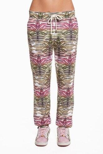 pants sweatpatns sweatpants joggers floral floral pants floral sweatpants printed sweatpants printed joggers