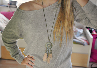 jewels dreamcatcher necklace