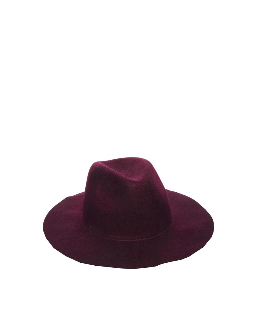 ASOS Felt Fedora Hat at asos.com