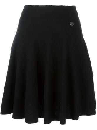 skirt tiger black