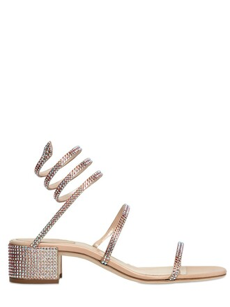 sandals satin nude shoes