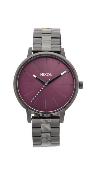 watch black purple jewels