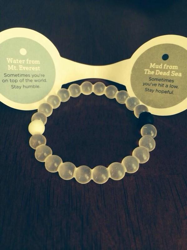 jewels black white bracelets mountain ocean