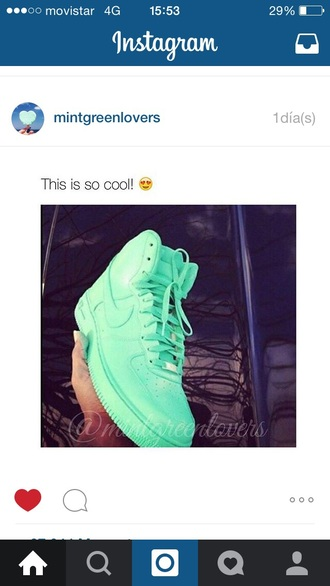 shoes nike nike air force white turquoise turquoise shoes nike air force 1