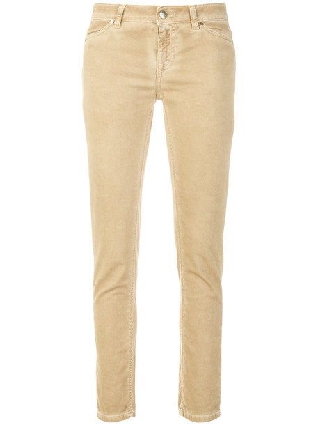 Twin-Set jeans skinny jeans women classic spandex nude cotton